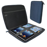 View Item iGadgitz Blue EVA Travel Hard Case Cover Sleeve for Apple iPad 2, 3 &amp; New iPad 4 with Retina Display 16GB 32GB 64GB